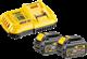 Bild von Starter set batteria DeWalt DCB 118 T2